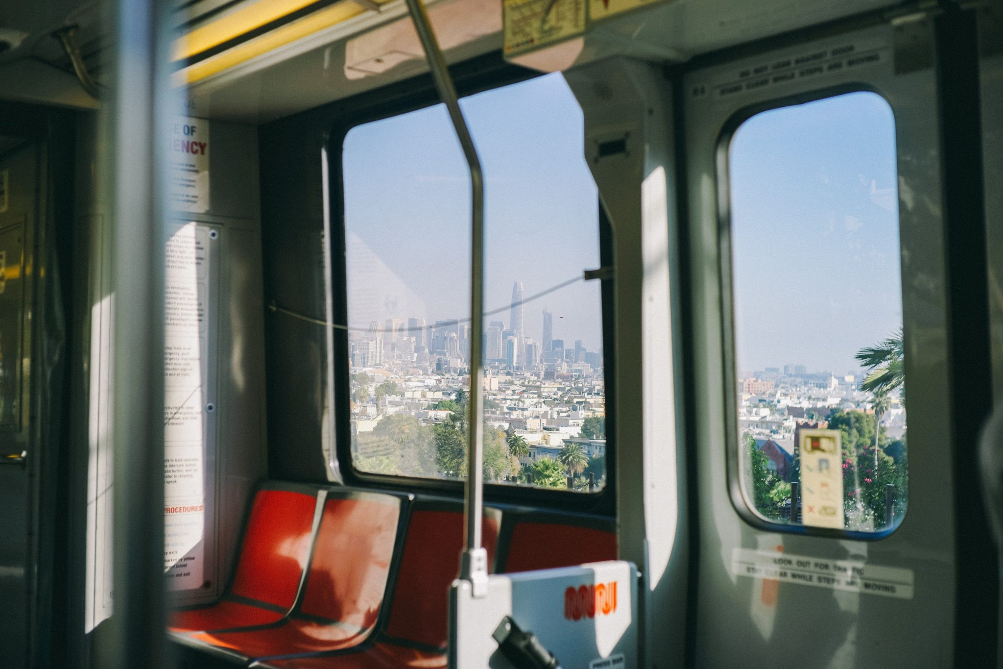 Using the BART from the airports to San Francisco or Oakland
