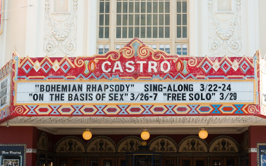 Castro Theater is definitely different from any other movie theater