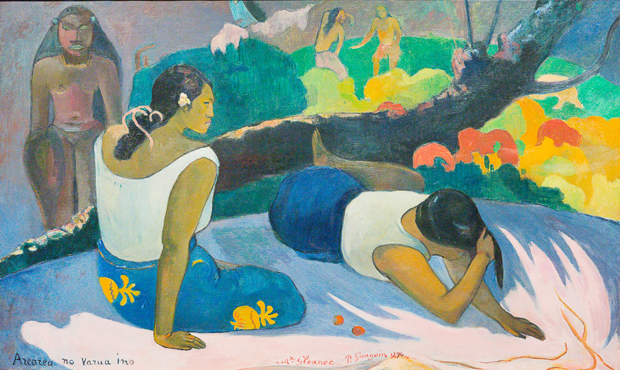"Gauguin "" A Spiritual Journey"" at De Young Museum until June 23rd, 2019"