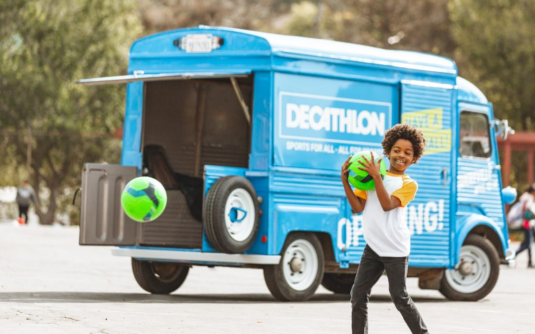 Decathlon – Have a Ball with East Bay community