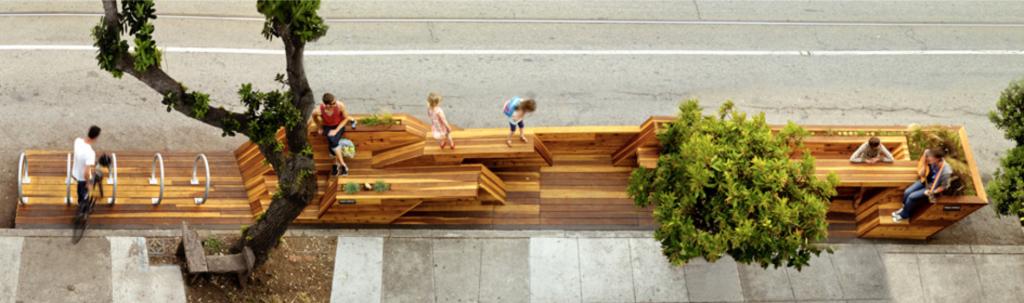 San Francisco parklets