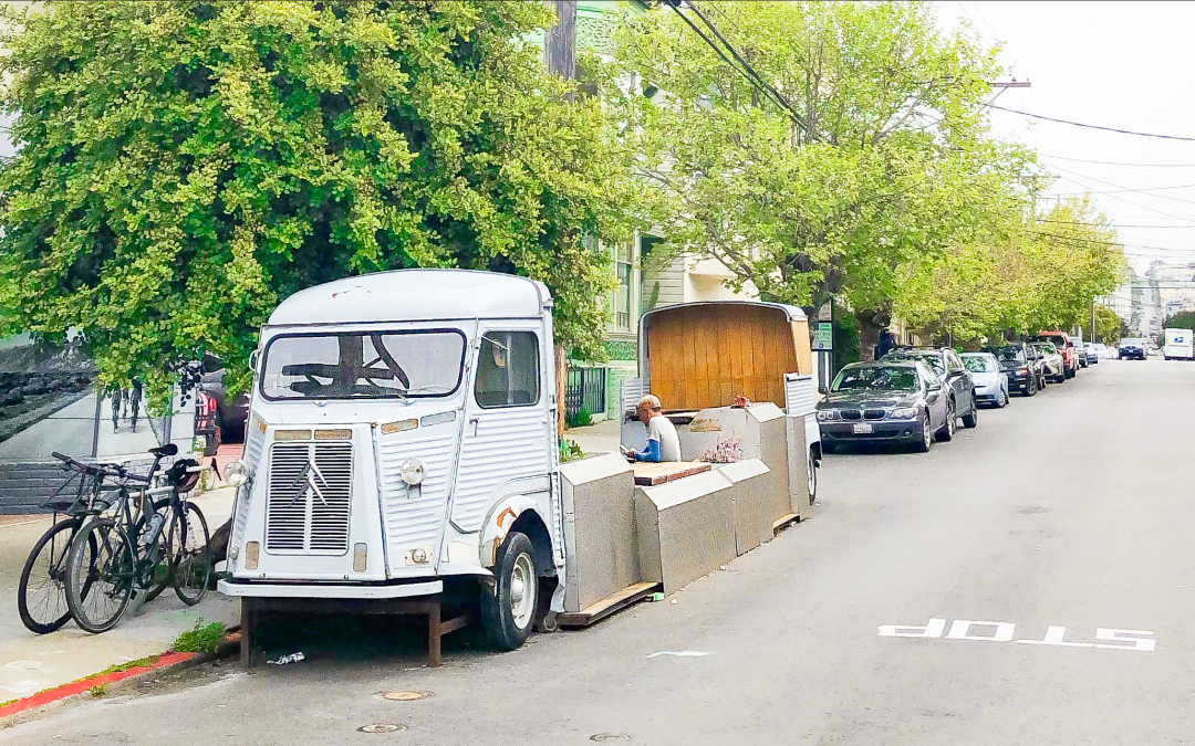 San Francisco parklets – Exit on street parking, the city regains its rights