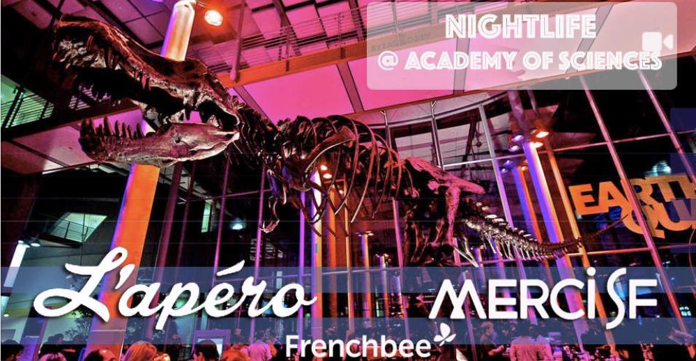 L'Apéro SF – NightLife @Academy of Sciences