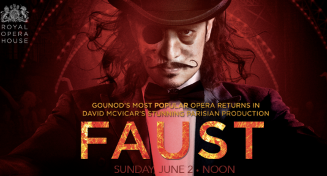 Gounod's Faust by the Royal Opera House live in San Rafael cinema