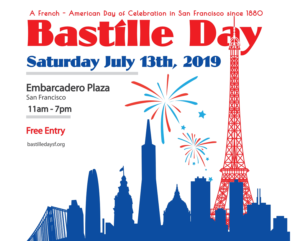 Bastille Day 2019 – Celebrate with the French Community at Embarcadero