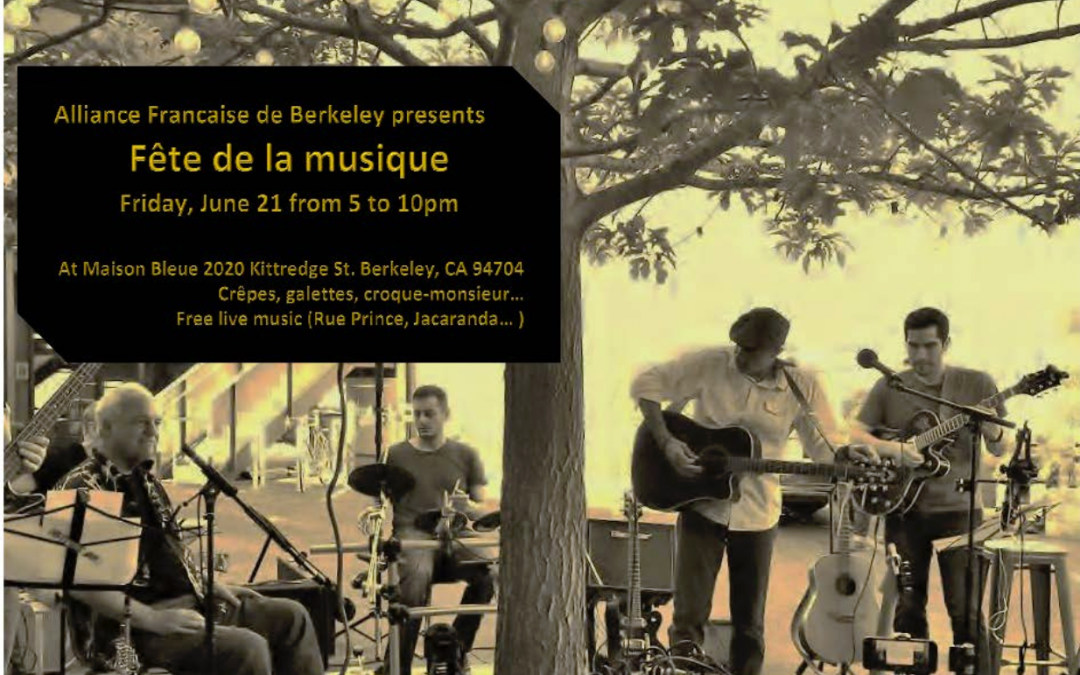 Fete de la Musique 2019 (Make Music Day) Berkeley
