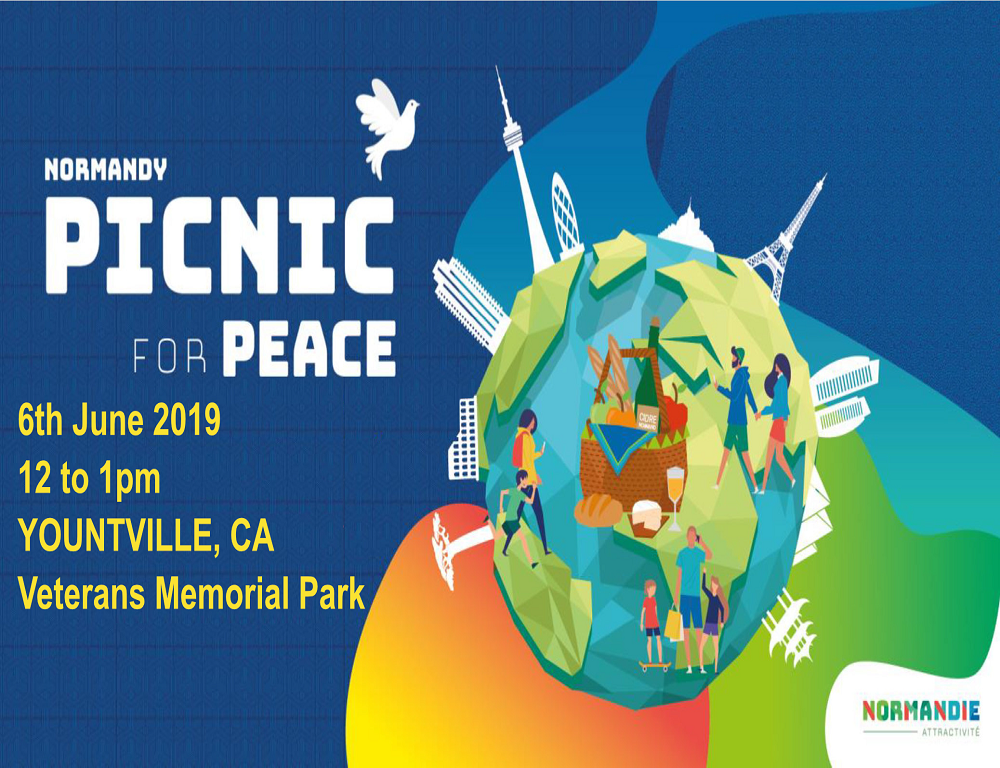 Let's celebrate the 75th anniversary of D-DAY with Picnic for Peace in Yountville
