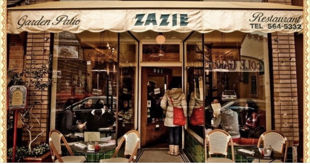 Eat, drink and speak French at Zazie San Francisco on Sunday