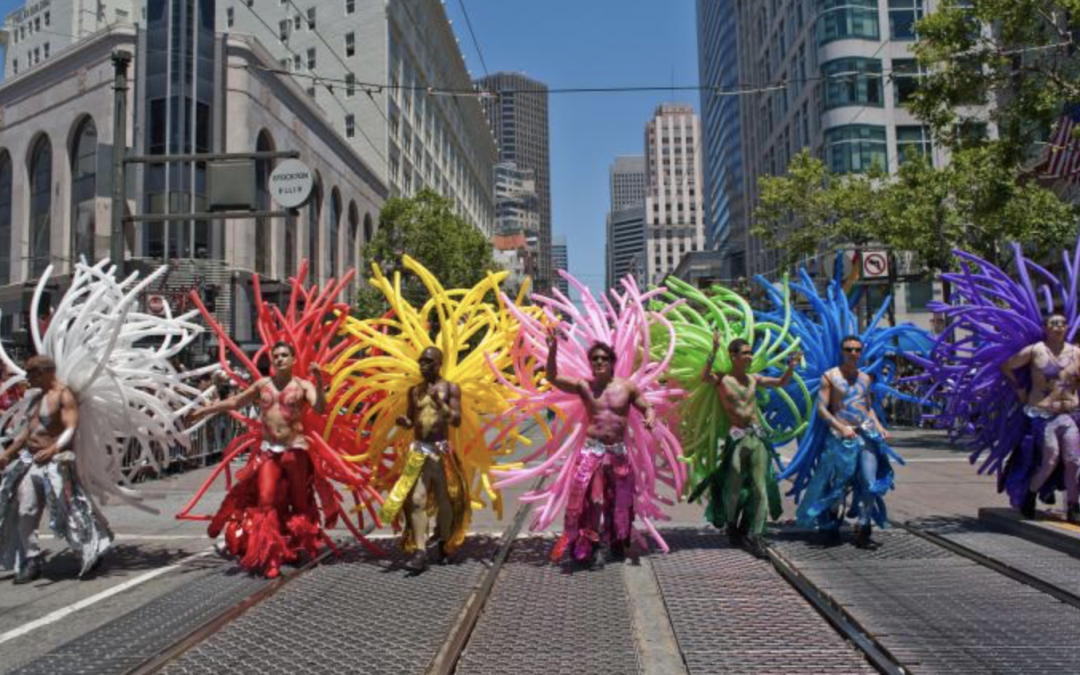 San Francisco Gay Pride's Parade is on Sunday