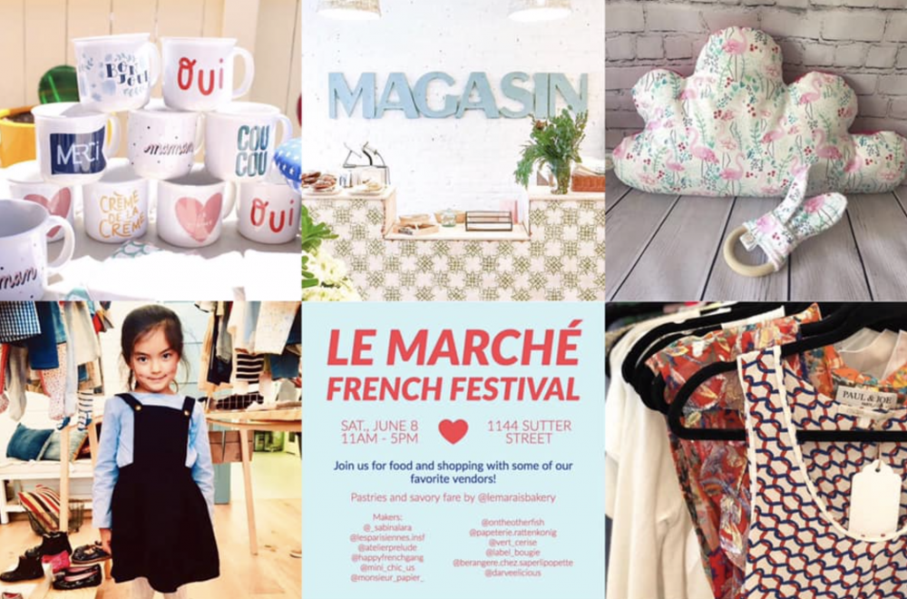 Le Marché SF – Shopping with a French accent on June 8th