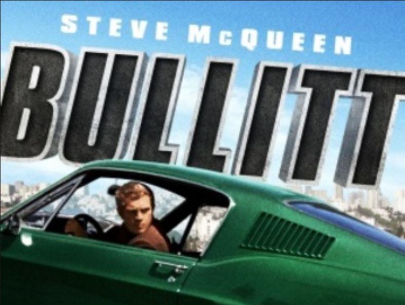 Movie – Bullitt with Steve MacQueen at Castro Theatre