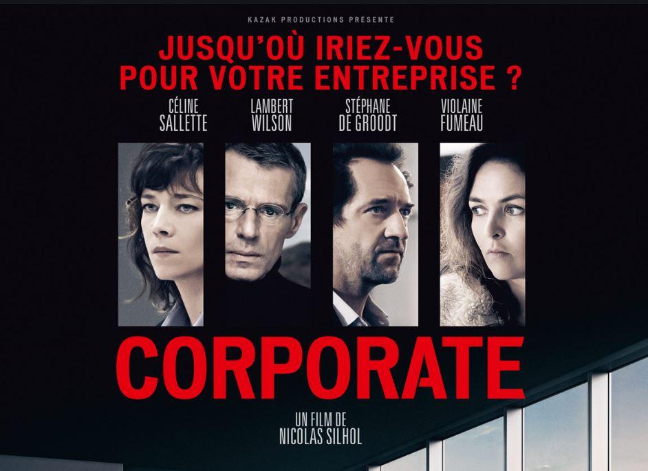 Film – Corporate de Nicolas Silhol avec Lambert Wilson