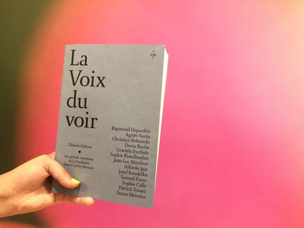 «La voix du voir», un livre de Clément Chéroux à ramener dans ses bagages