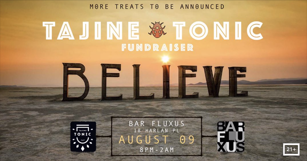 Tajine Tonic: A pre Burning Man event