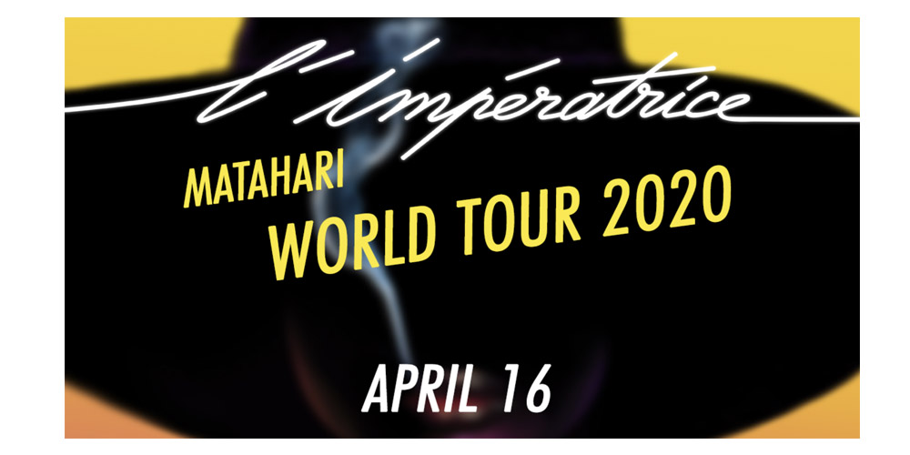 Concert Electro-Pop – L'Imperatrice in Oakland for their World Tour 2020