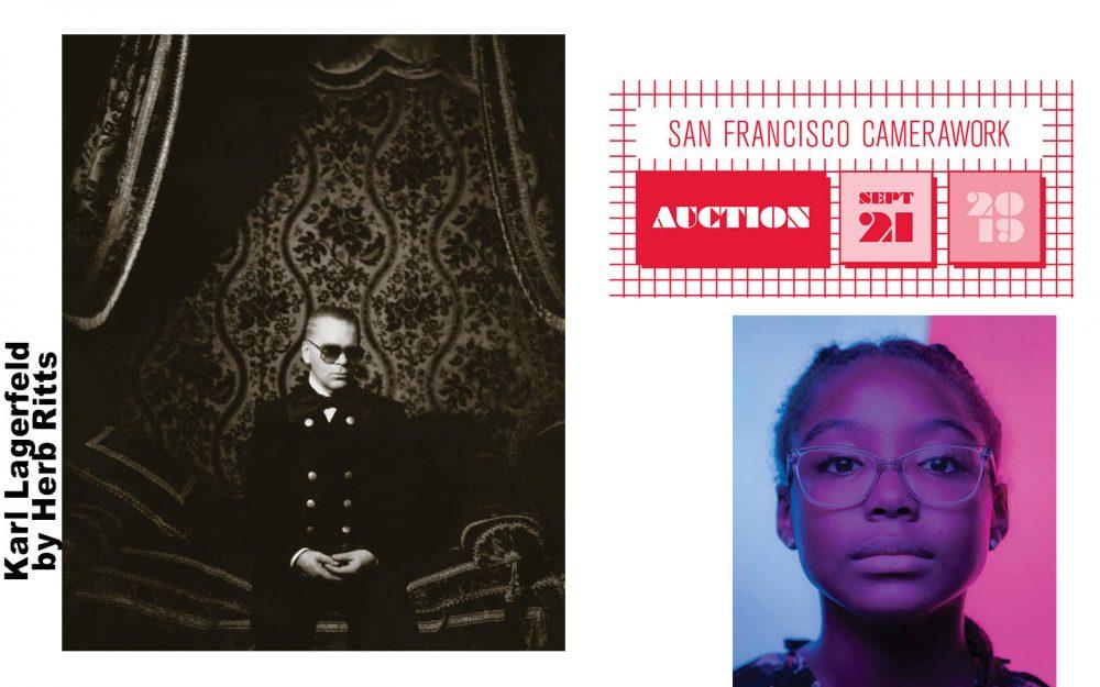SF Camerawork gala: Bid on Karl Lagerfeld's portrait by Herb Ritts