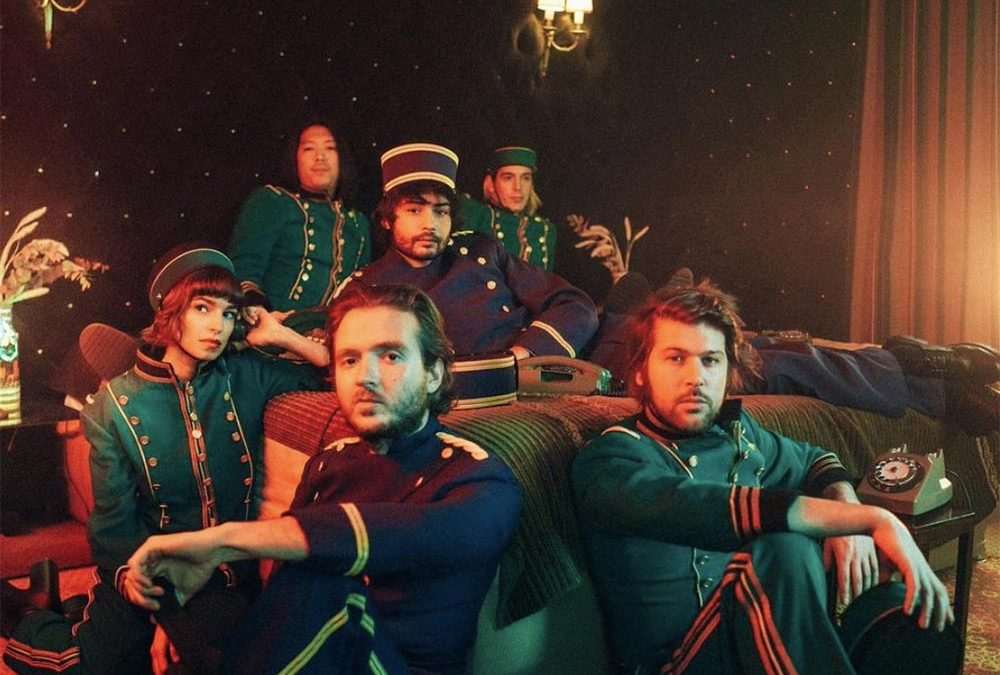 French Electro-Pop – L'Imperatrice in Oakland for their World Tour 2022
