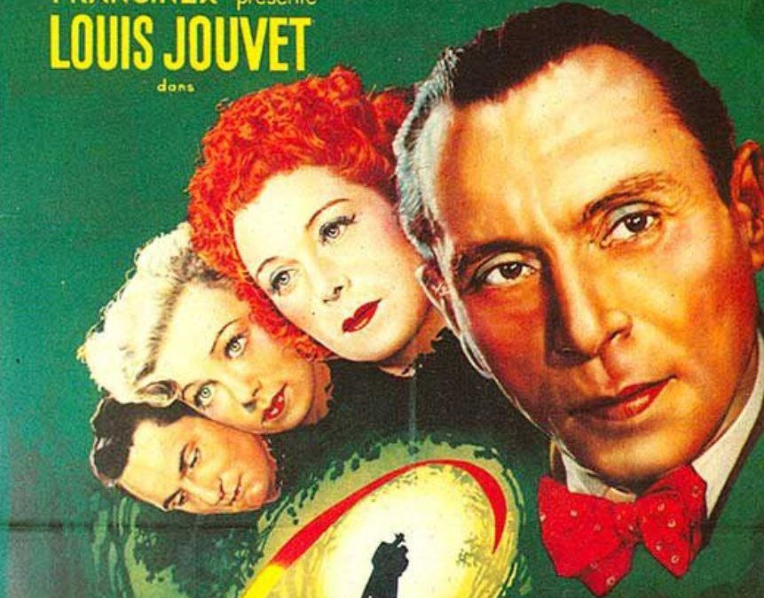 French Movie – Monelle (1948) with Louis Jouvet  (EN subtitles)