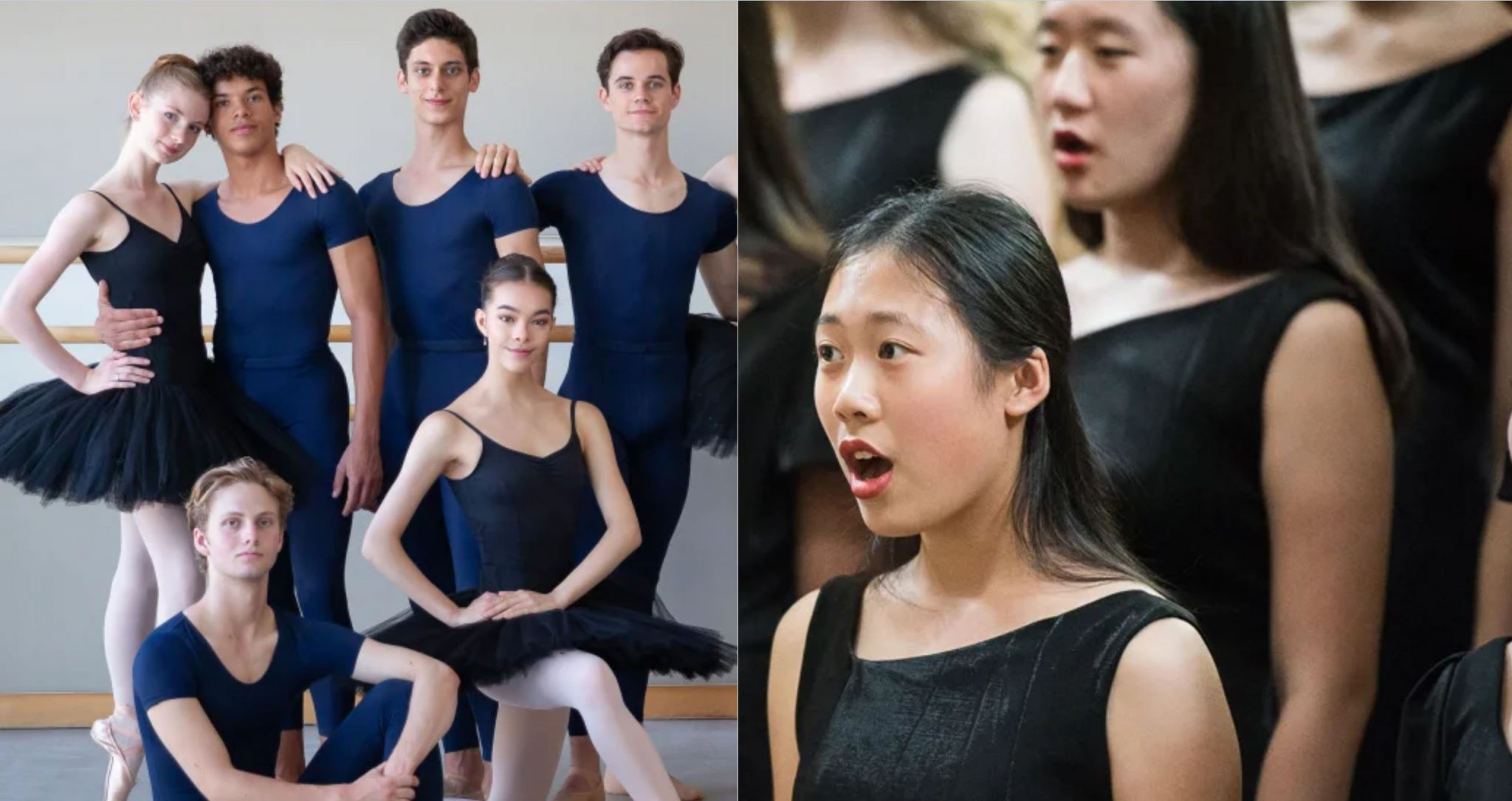 SF Ballet and SF Girls Chorus perform at Lycee Français de San Francisco