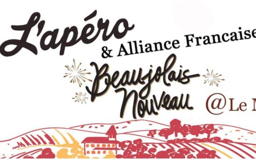 Let's celebrate Beaujolais Nouveau with L'Apéro on Nov 21st, 2019