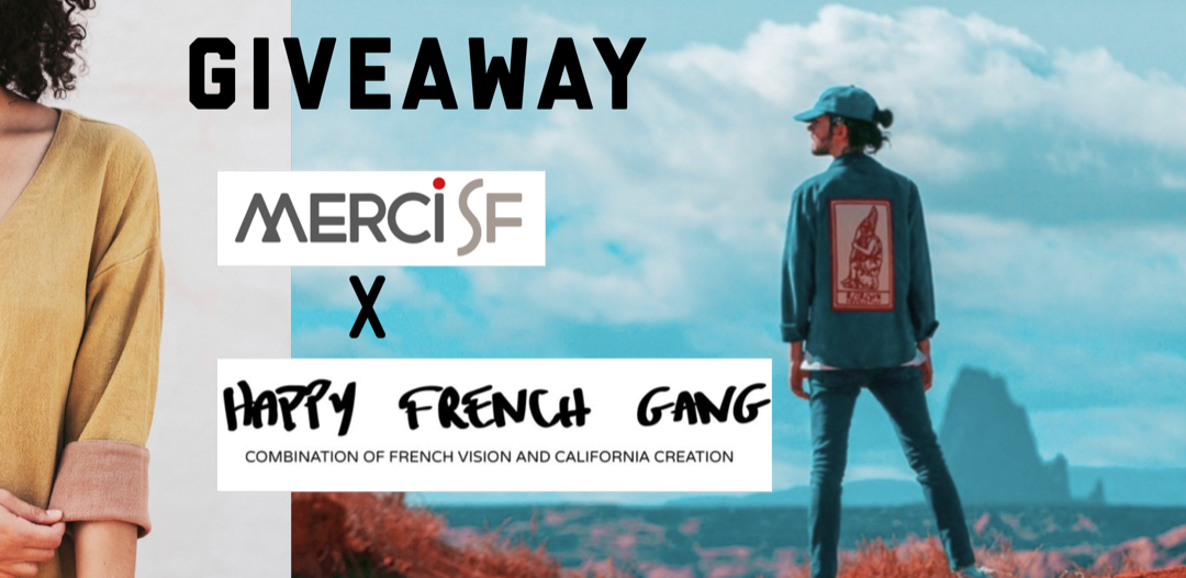 French Vibe Giveaway: Happy French Gang and MerciSF team up to offer gifts