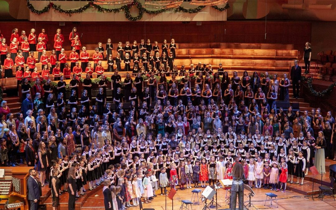 San Francisco Girls Chorus, a Ceremony of Carols at Davies Symphony Hall