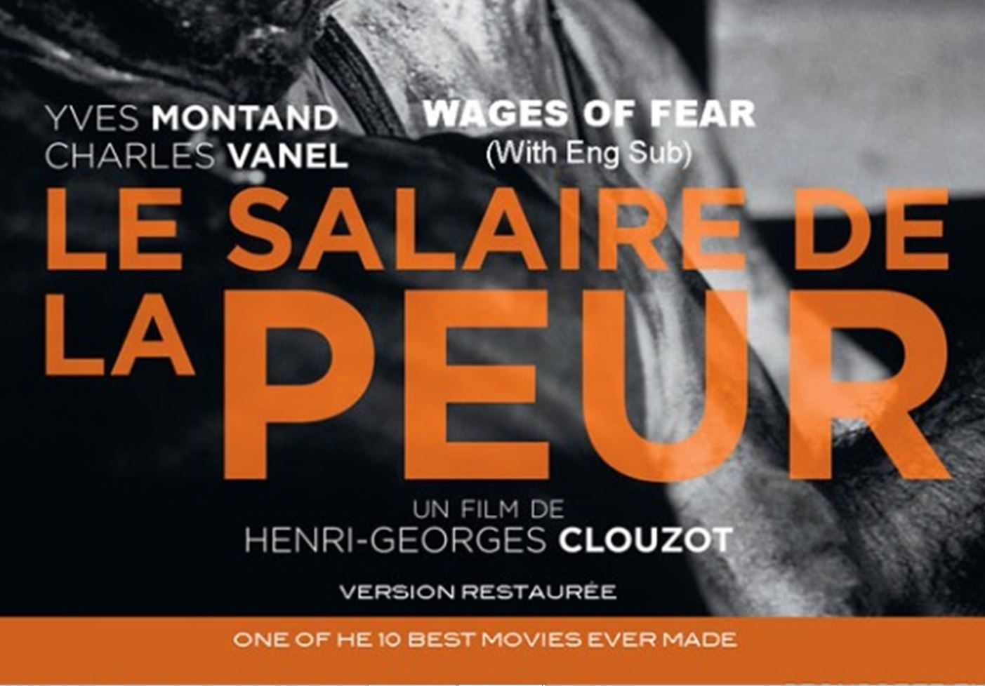 Salaire peur French movie