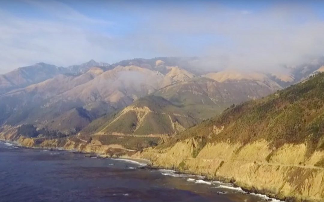 Vidéo – Big Sur, beautiful and rebel coast south of San Francisco