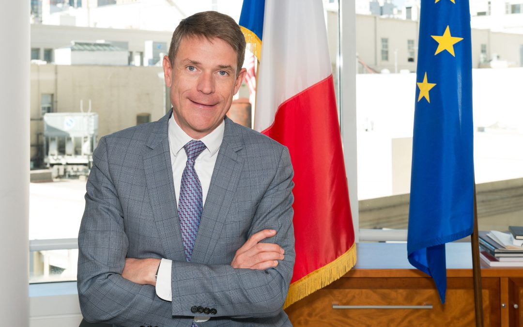 Interview: Emmanuel Lebrun-Damiens, Consul General of France in San Francisco