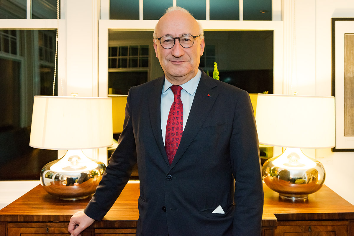 Interview with Philippe Etienne, Ambassador of France to the United States