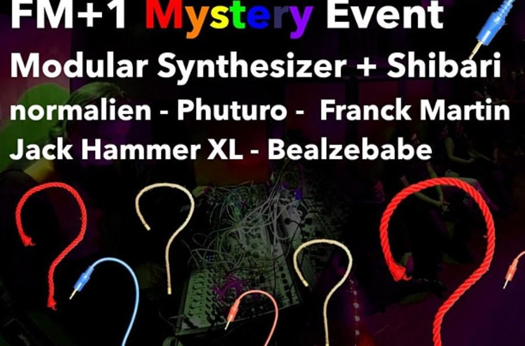 Concert electro – FM+1 Mystery Event – 3rd edition