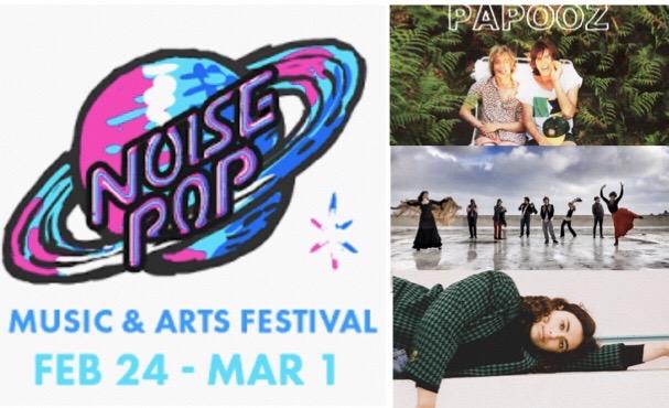 Noise Pop Festival – 1 semaine, 160+ artistes, 25+ salles