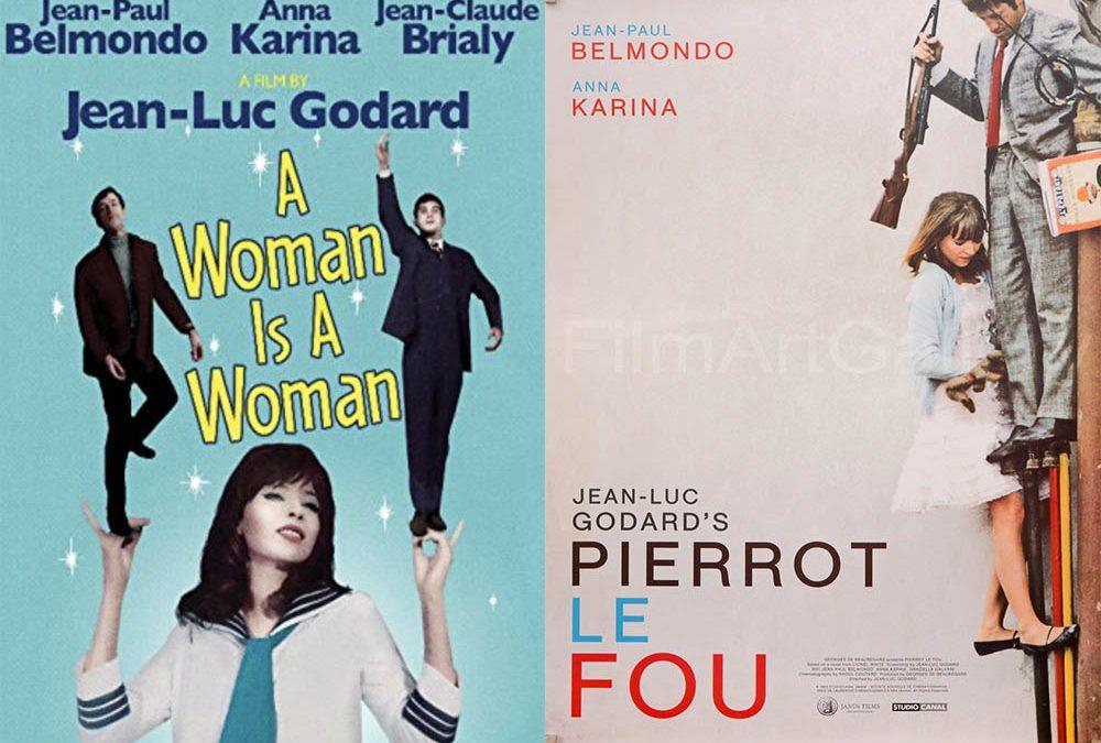 Anna Karina : Pierrot Le fou + Une femme est une femme