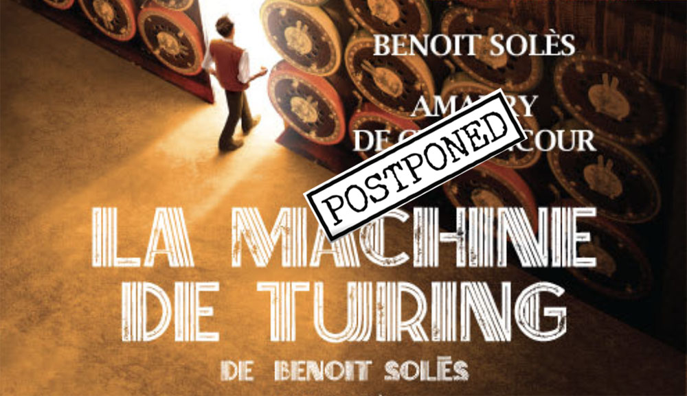 Play in French: La Machine de Turing at TLF