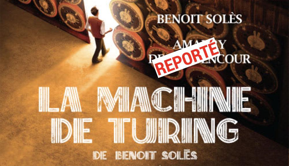 Théâtre – La Machine de Turing de Benoit Solès