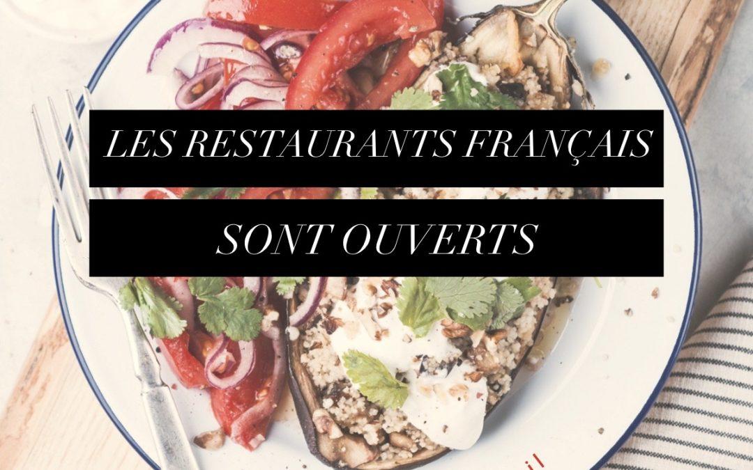 Restaurants Français et Francophones – Take-out et livraison