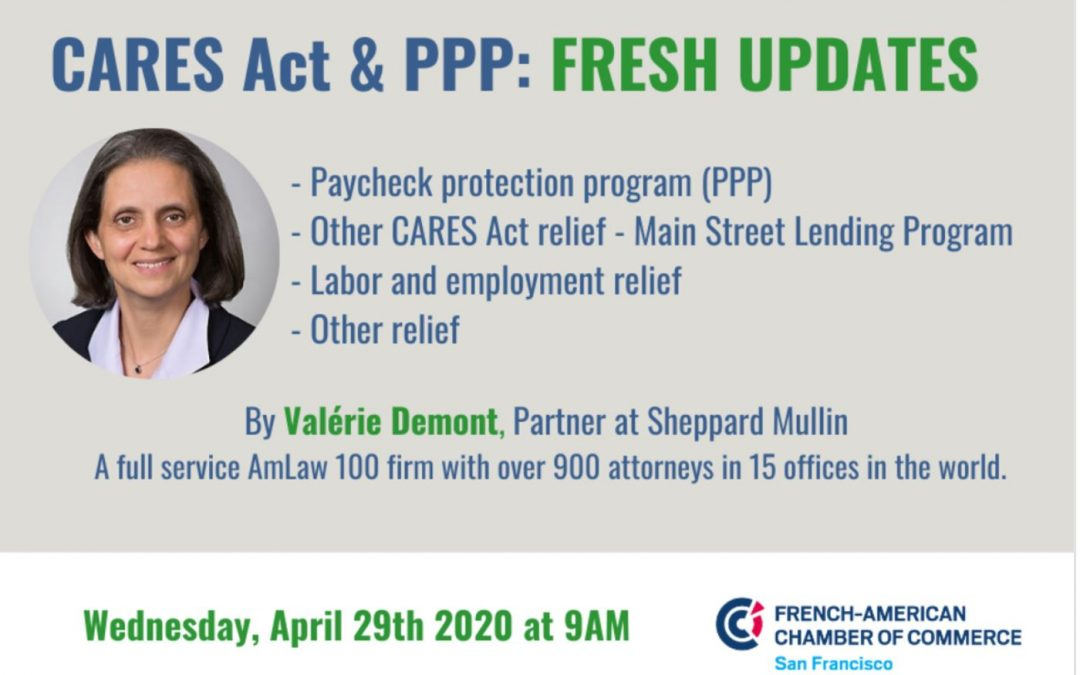 Webinar by FACCSF – CARES Act & PPP Fresh Updates