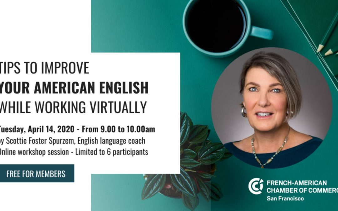 FACCSF Workshop – Boost your confidence in English with an expert!