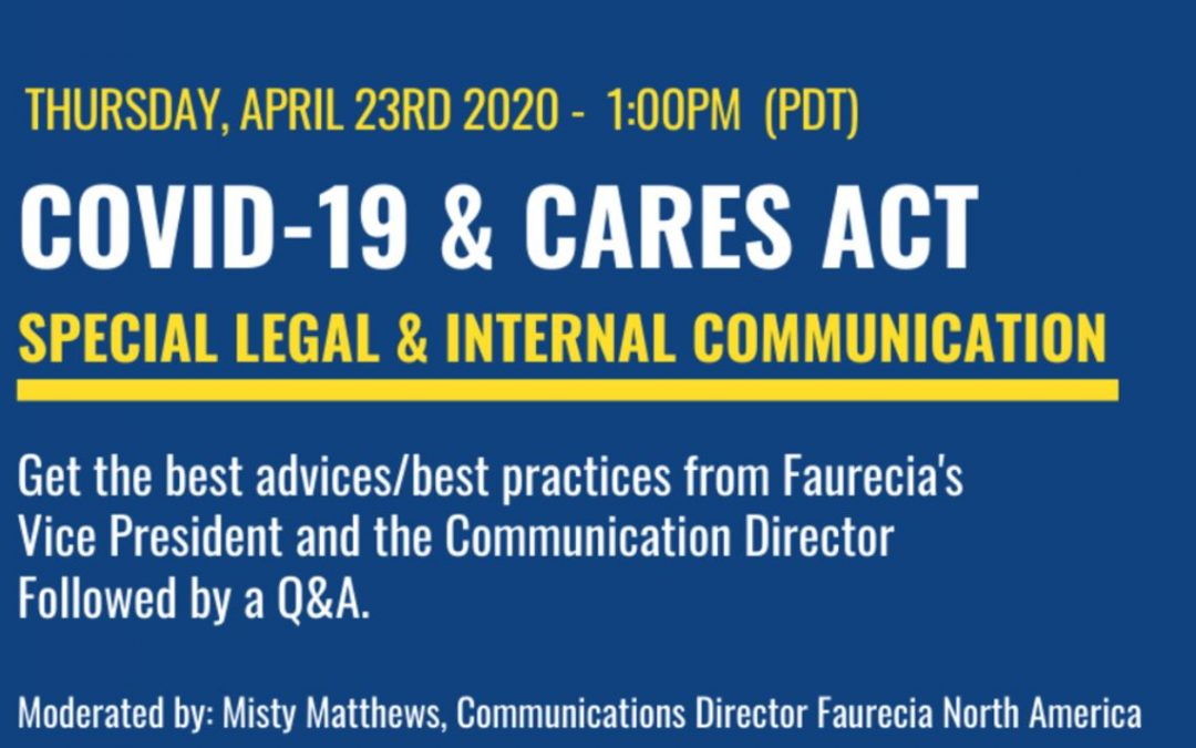 Webinar Booster Series by FACCSF – Legal & Internal Communication