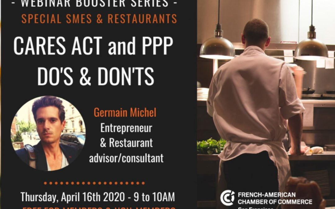 Webinar Booster Series by FACCSF – SMBs & Restaurants