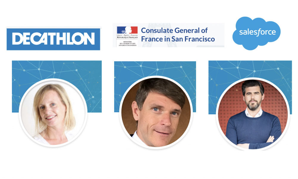Decathlon & Salesforce by the French Consul: hands across the ocean