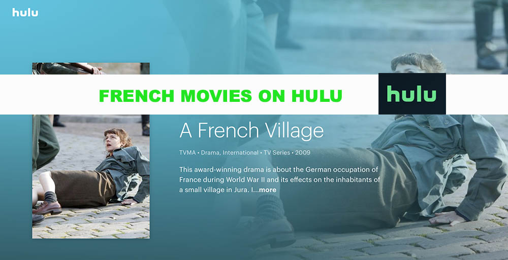 French Movies on HULU in April 2020