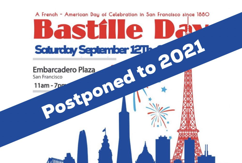 Bastille Day 2020 – Cancelled but already programmed for July 2021!