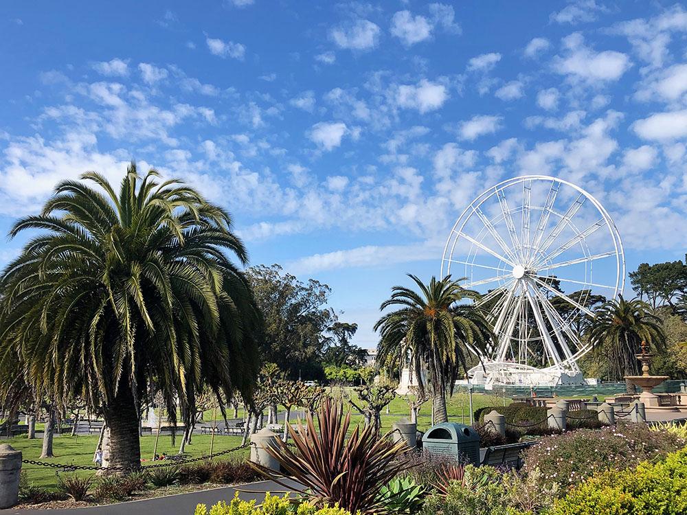 Ce que le Golden Gate Park doit au sol français…