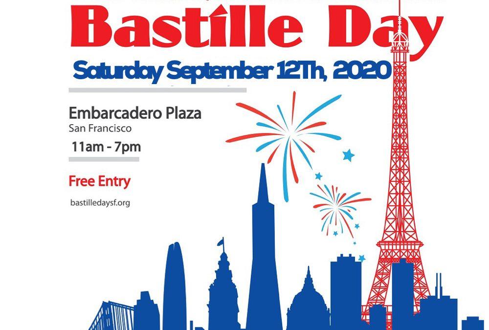 Bastille Day 2020 – Mark your calendar for September 12th!