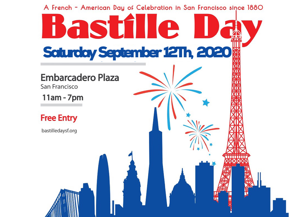 Bastille Day 2020 – Mark your calendar for September 12th!