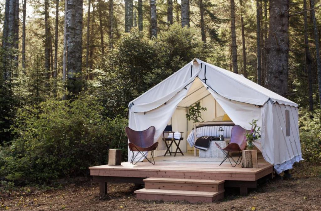 glamping camping car
