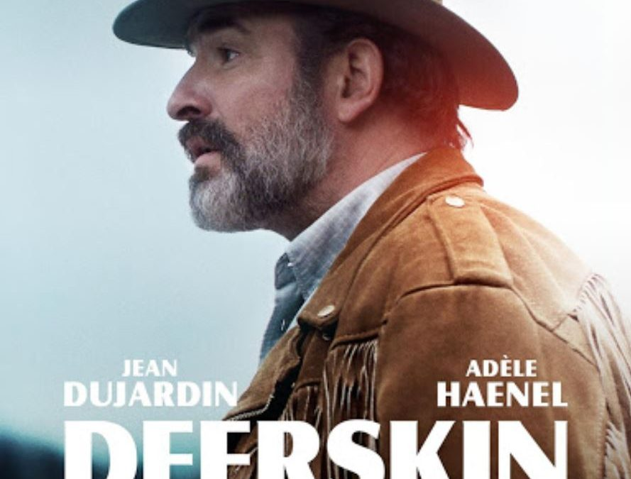 Movie – Deerskin with Jean Dujardin & Adèle Haenel (EN subtitles)
