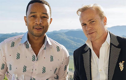 Wine tasting with John Legend & Jean-Charles Boisset