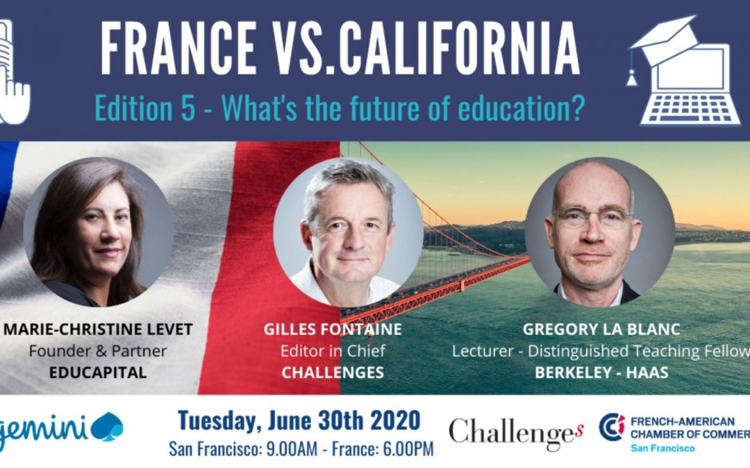 Webinar FACCSF – What's the future of education?
